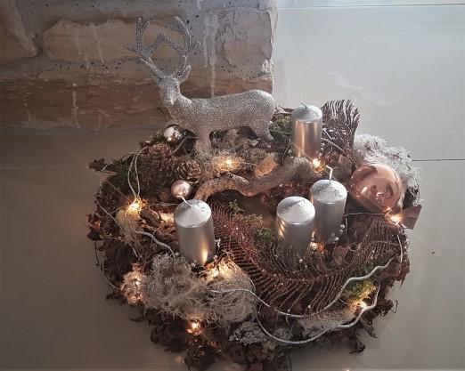 Dekoration für Winter und Weihnachten